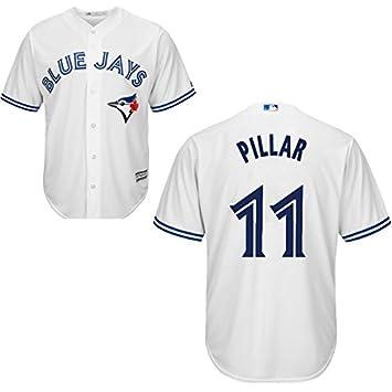 hot sales 60712 a2357 Women's Toronto Blue Jays #11 Kevin Pillar Jersey White XXL ...