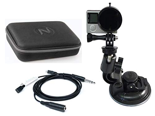 - Nflightcam Cockpit Video Kit for GoPro Hero3, Hero3+, Hero4