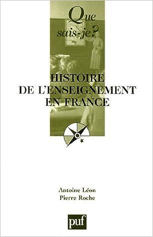 Un Livre A Telecharger Histoire De L Enseignement En France