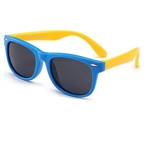 Kids Sunglasses Polarized kds Sunglasses Girls Baby Sunglasses Boys Age 4-10
