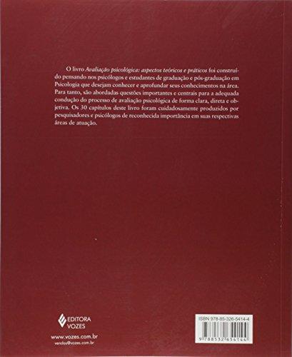 Avaliação Psicológica. Aspectos Teóricos e Práticos