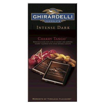 Ghirardelli Intense Dark Chocolate, Cherry Tango, 4.87 Oz (Pack of 3)