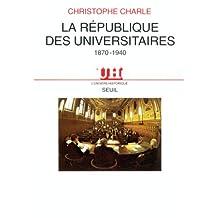 République des universitaires