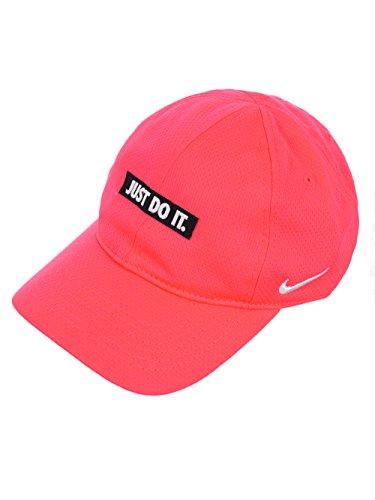 (NIKE Girls' Baseball Cap (Youth One Size) - Racer Pink, 4-6x)