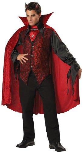 Sinister Devil Adult Costume - X-Large