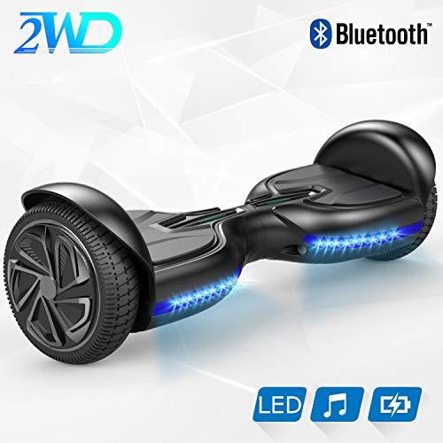 2WD-Hovereboard-Self-Balancing-Scooter-Q2-Auto-quilibrage-65-Pouces-Electrique-Scooter-UL-Certifi-avec-Haut-Parleur-stro-sain-intgr-de-Bluetooth-XP1-Noir