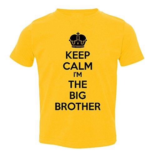 so-relative-keep-calm-im-the-big-brother-baby-boys-kids-t-shirt-gold-black-print-youth-medium-10-12