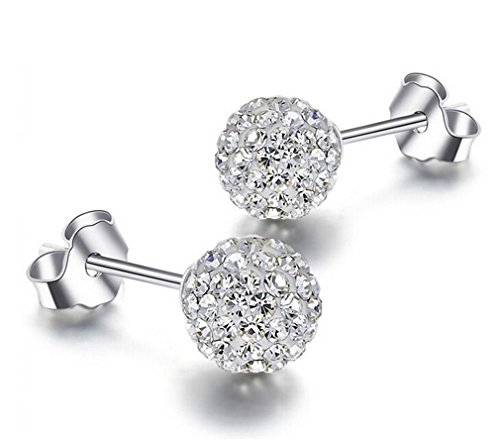 omos-women-fashion-jewelry-925-sterling-silver-round-ball-yoursfs-stud-earrings-1cm