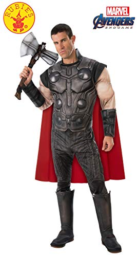 Favorite Character Costumes (Rubie's Adult Costume 700739 Marvel Avengers: Endgame Men's Deluxe Star-Lord, As As Shown,)