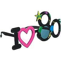 Stylish Birthday Party 80s Funshades Accessory, Plastic,