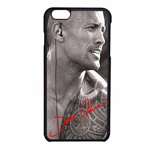 Dwayne Johnson The Rock iPhone 6 Case / iPhone 6s Case (Black Plastic)