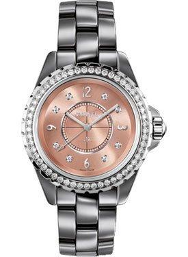 Chanel J12 Ladies Diamond Watch H2563
