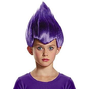 Purple Wacky Child Wig, One Size Child