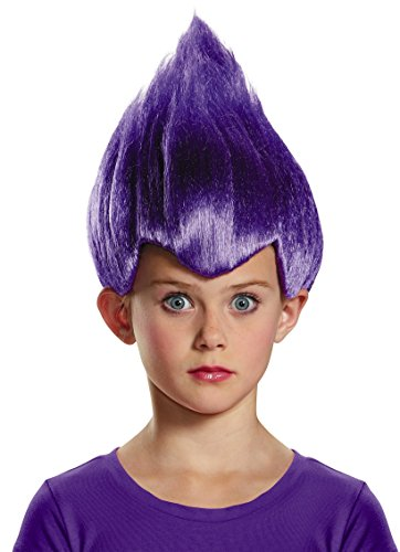 Purple Wacky Child Wig, One Size (Box Troll Halloween Costume)