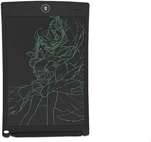 子供のためのドローイングパッド BMWY LCDライティングタブレットアップグレード版エレクトロニックライティングボードLCDグラフィックス描画手書き落書きパッド8.5インチのスレート黒板ボードの再利用可能なキッズボーイズガールズ3歳、BLAC グラフィックタブレット