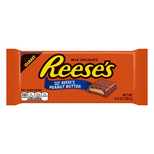 REESE'S Giant Peanut Butter Bar (6.8-Ounce (Giant Chocolate Bar)