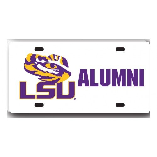 lsu alumni license plate frame - 5