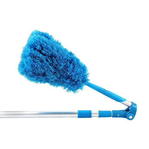 Houseables-Duster-Microfiber-Long-Extendable-Ceiling-Fan-Feather-Claw-47-91-Extension-Pole-Wet-Dry-Use-Dust-Cleaner-Telescoping-Bendable-Washable-Lint-Free-Cobweb-Dusting-Brush