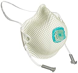 Moldex 507-2730N100 Particulate Respirator with Handy Strap, M/L