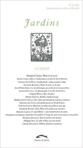 Lire Jardins, N° 3, 2012 : Le Temps pdf