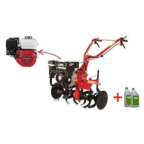 FORT motoazada A Gasolina minitigre Motor Honda gx160 5 HP: Amazon ...
