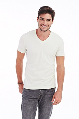 "Stedman Herren Herren V-Neck T-Shirt ""James"" ST9210 White XXL"