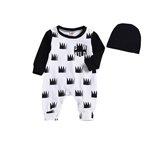 Pooh Baby The Monitor Winnie (Winnie The Pooh Baby Clothes dad Baby Clothes Arizona Baby Clothes Newborn Infant Baby Boy Long Sleeve Crown Romper Jumpsuit Hat Clothes Outfit Set Toddler Dresses Newborn Baby Girl Winter Clothes 3)
