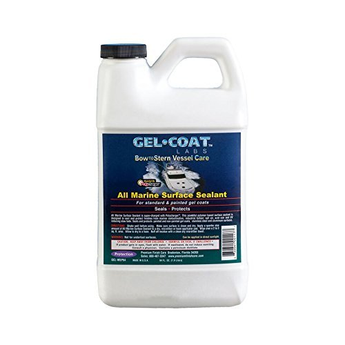 Gel Coat Labs All Marine Surface Sealant 64 oz Bottle