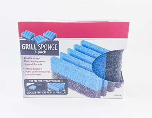 GEORGE FORMAN SPONGE FOR GRILL (3, One) - George Foreman Cleaning Sponges