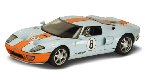 Scalextric C3324 Ford GT Heritage Gulf Livery Vehicle, Scale 1/32 (Body Car Scale Slot 32)
