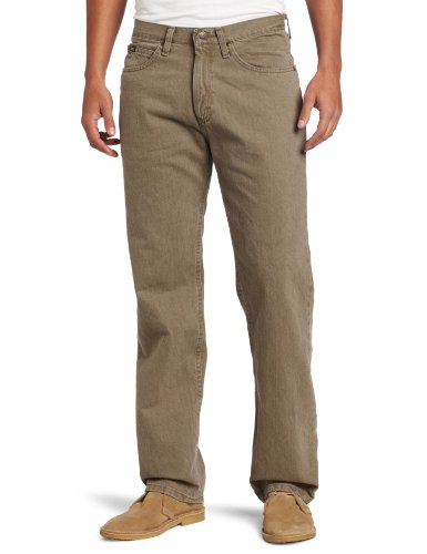 (Lee Men's Relaxed Fit Straight Leg Jean, Tarmac, 36W x 29L)
