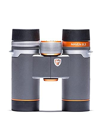 Maven B3 8X30mm ED Compact Binoculars Gray/Orange
