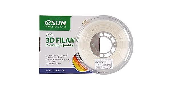 Esun elástico flexible TPE 1.75 mm Impresora 3d filamento 1 kg ...