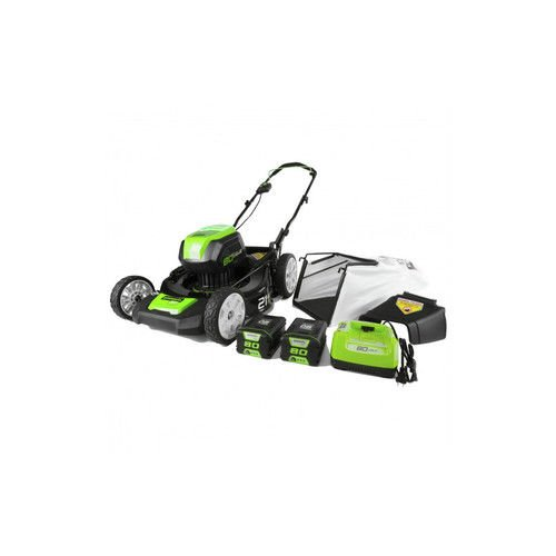 Greenworks 2506902 Greenworks GLM801600 80V 21 in. Brushless Mower (Tool Only) by Greenworks