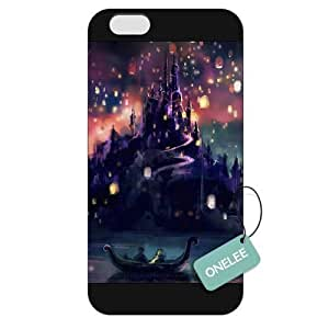 Disney Tangled Princess Rapunzel Frosted Phone Case; Cover For Ipod Touch 4 Cover - Black