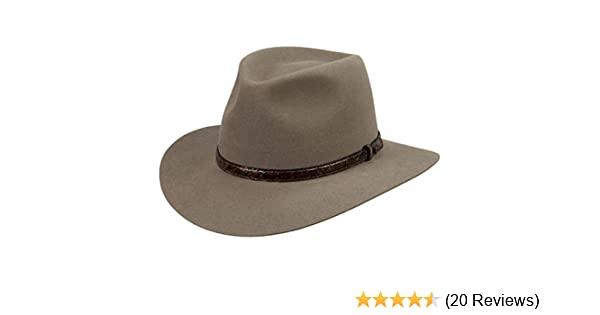 a14265c58b3 Akubra Banjo Paterson Hat at Amazon Men s Clothing store