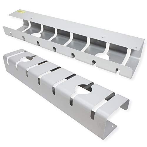 ROLINE 17.03.1302 canaleta para - Cable (Bandeja portacables recta, Aluminio, Plata, 110 mm, 80 mm, 53 mm)