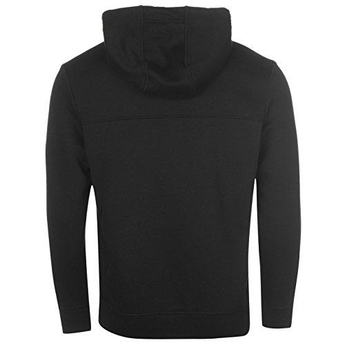 Hommes Polaire À Noir Zip Top Sweat Capuche Sweatshirt Everlast wUF0qF