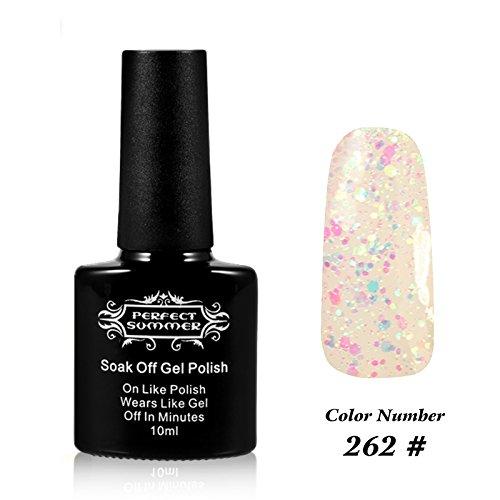 Perfect Summer UV LED Soak Off Gel Nail Polish 10ml Nail Lac