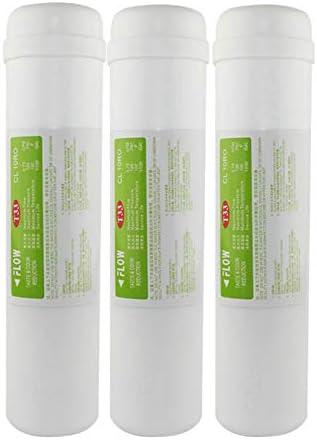 LZH FILTER 3 Pack Post Filtro en línea Carbon T33 11