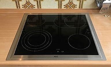 Marco adaptador de acero inoxidable para placas de cocina, 492 x 562 mm