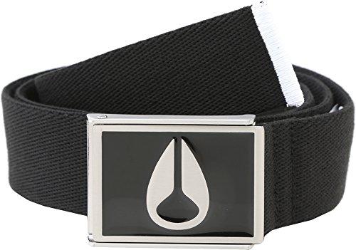 Nixon Men's Enamel Wings Belt, Black One Size - Nixon Black Belt