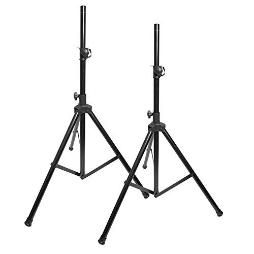 EMB Professional Pair of SS06 Heavy Duty 6.5FT Tripod Speaker Stage Stands/Set of 2 by EMB