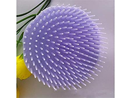 Hezon Household Hair Head Massage Comb Dandruff Itching Comb Clean Scalp Artifact Shampoo Brush for Adult (Purple) (Color : Lavender, Size : 1.8x8cm)