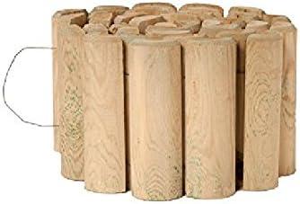 Catral 31010006 - Bordura flexible de madera tratada 40x250 cm ...