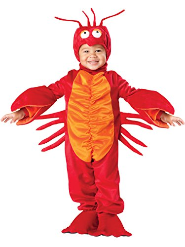 (InCharacter Costumes Baby's Lil' Lobster Costume, Red, Medium)
