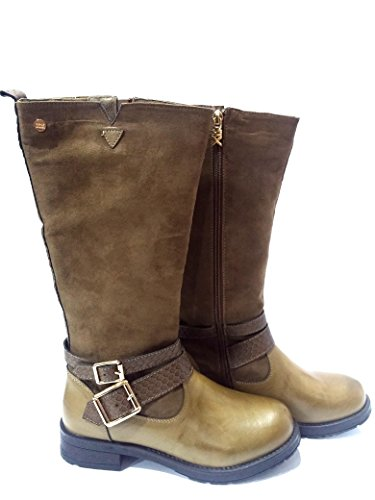 Botas mujer XTI color taupe (46185)