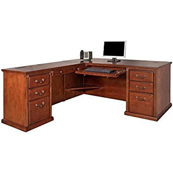 Amazon Com Bridgeport L Shaped Computer Workstation