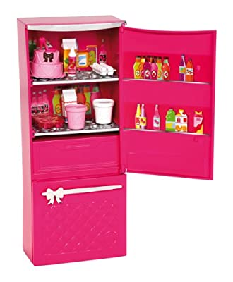 Barbie Glam Refrigerator Furniture Set from Mattel