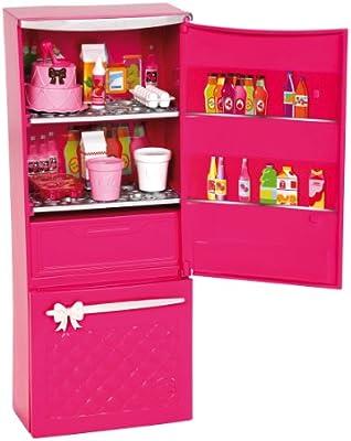 Amazon.es: Barbie - Mini Accesorio casa Glam: Set Nevera (Mattel ...